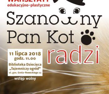 SZANOWNY PAN KOT plakat lato2018