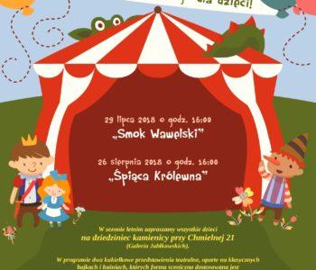 Letni Teatrzyk Kukiełkowy