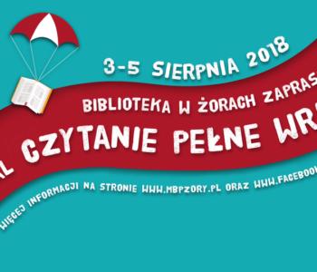 Festiwal Czytanie pełne wrażeń w Żorach