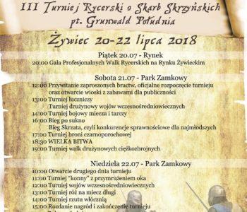 Ⅲ Turniej Rycerski o Skarb Skrzyńskich