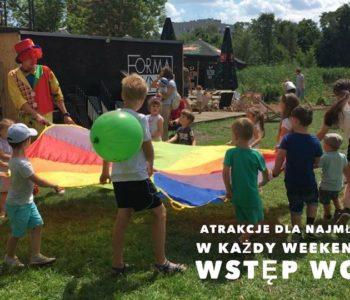 Weekendowe atrakcje dla dzieci w Formie Płynnej