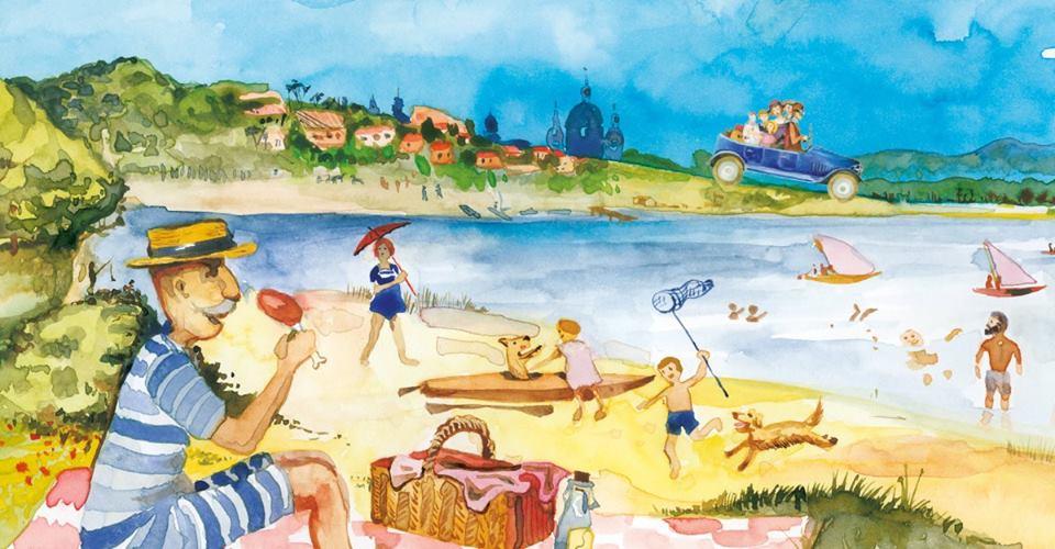 Historia malowana akwarelą – warsztaty dla dzieci
