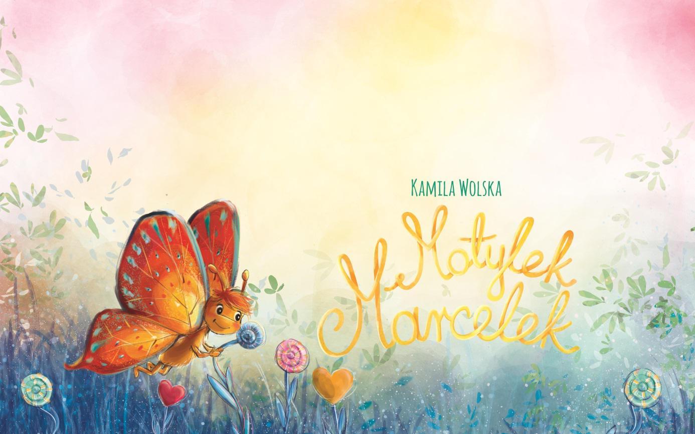 Motylek Marcelek - bajka terapeutyczna