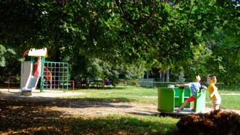 plac zabaw Park Skaryszewski Warszawa