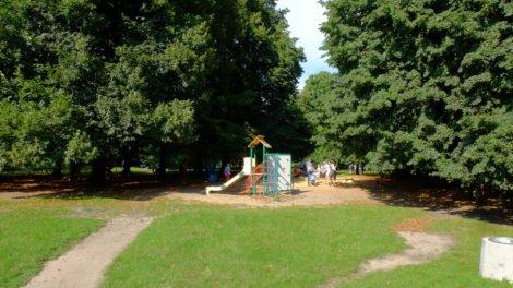 plac zabaw Park Skaryszewski