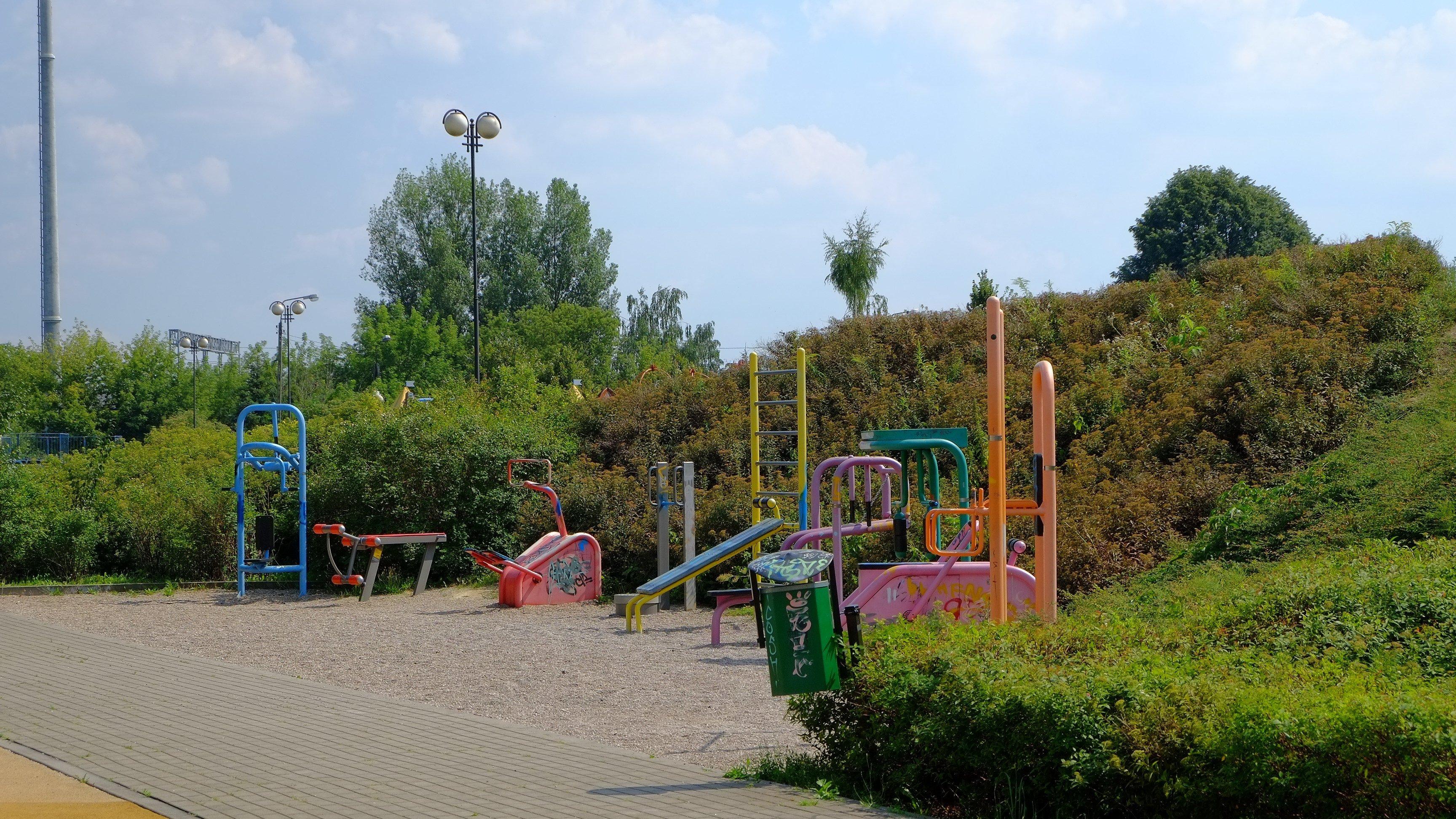 plac zabaw Warszawa Ursus