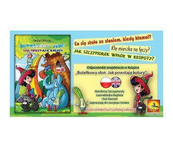 Butelkowy słoń książka dla dzieci
