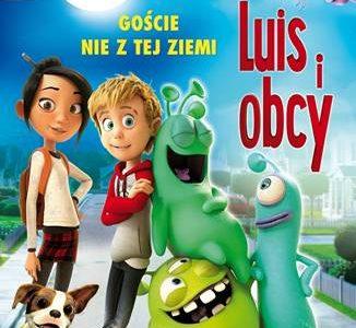 Nadlatuje kosmiczna animacja Luis i Obcy – premiera DVD