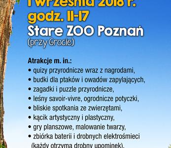IV Poznański Piknik Przyrodniczy – z przyrodą za pan brat