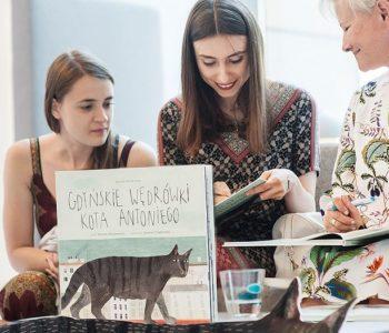 Nadmorski Plener Czytelniczy: Gdyńskie wędrówki kota Antoniego