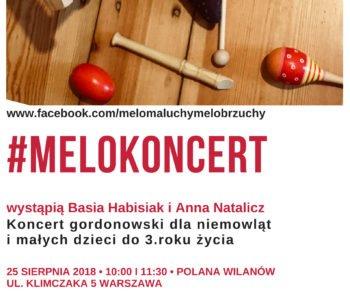 MeloKoncert dla niemowląt i małych dzieci na warszawskim Wilanowie