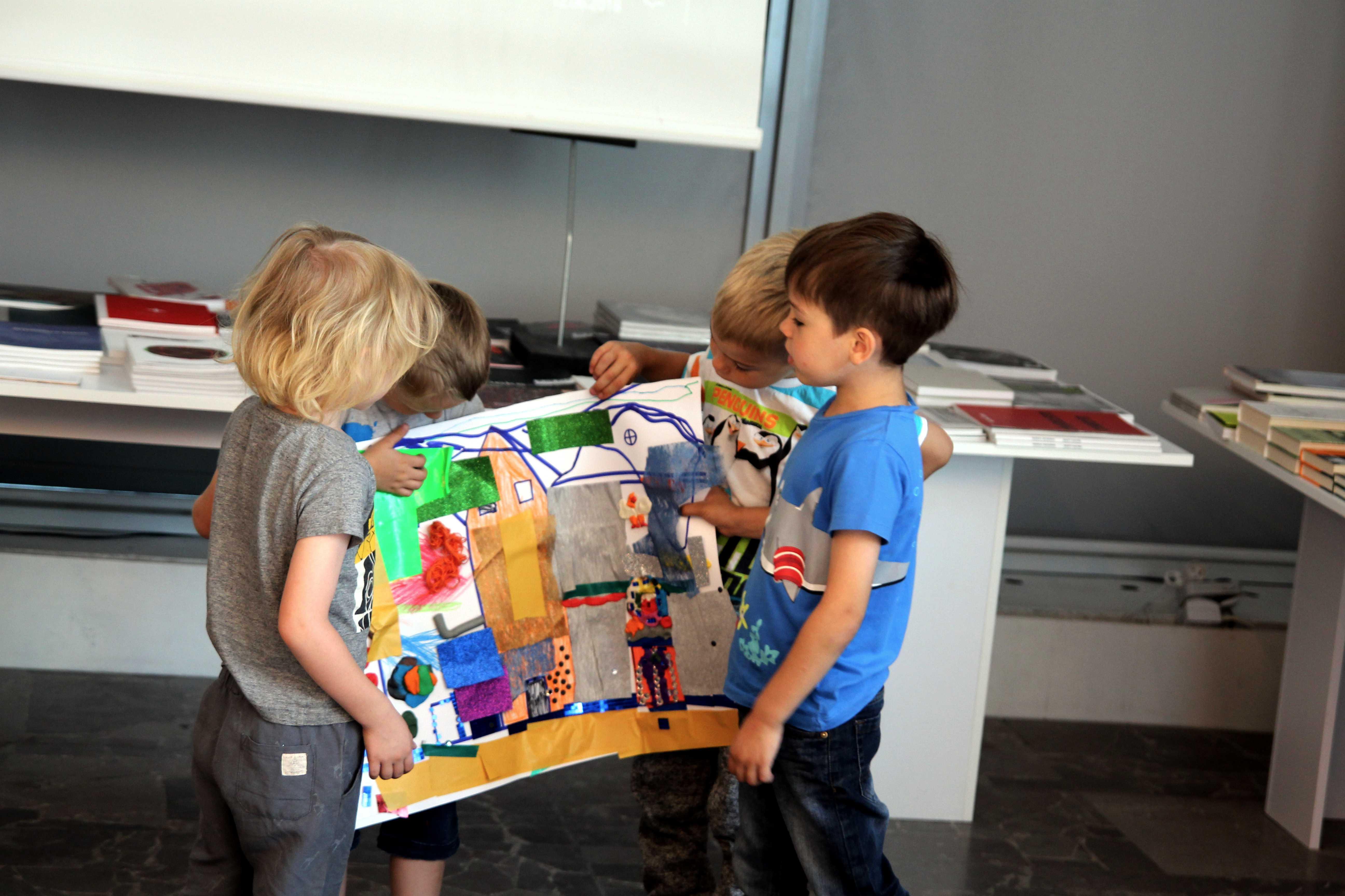 Mini Sztuka - zajęcia dla dzieci przedszkolnych