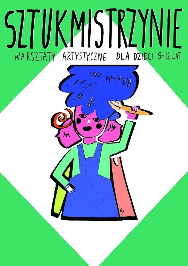 Sztukmistrzynie – zajęcia artystyczne dla dzieci szkolnych
