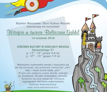 Aktywna Rodzina – Kapitan Warszawa - eko warsztaty