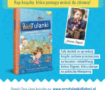 Premiera książki, która pomaga wrócić do zdrowia – PrzyTulanki