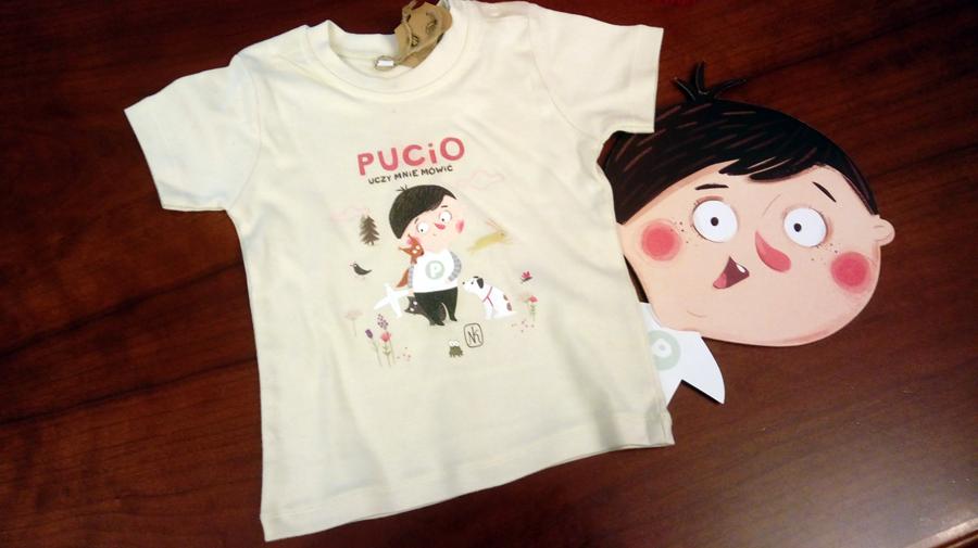 Wygraj koszulkę oraz książkę Pucio na wakacjach!