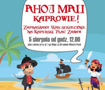 Ahoj Mali Kaprowie - Kaperski Plac Zabaw