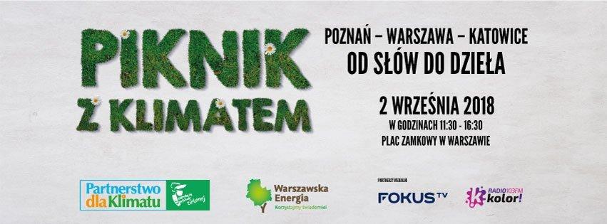 XI edycja Pikniku z Klimatem: Poznań – Warszawa – Katowice – od słów do dzieła