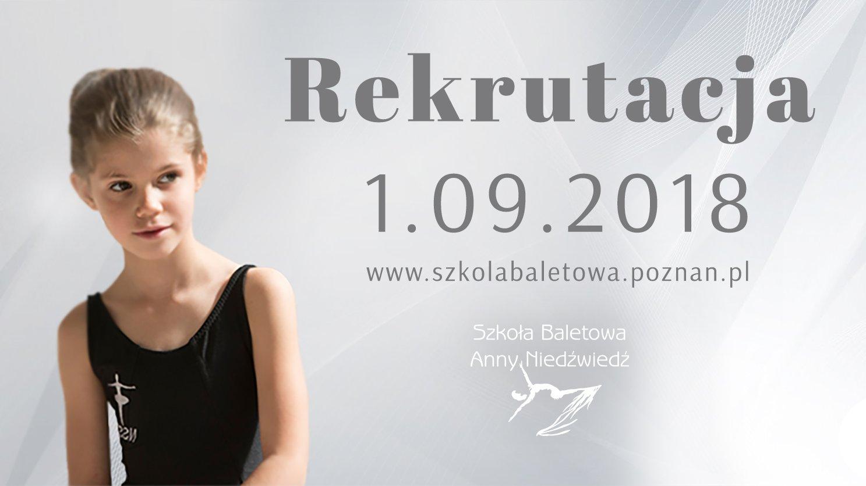 Rekrutacja do Szkoły Baletowej Anny Niedźwiedź już 1 września!