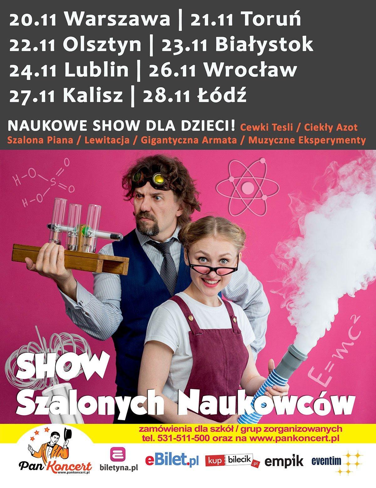 Teatr Bajek Mydlanych: Show szalonych naukowców