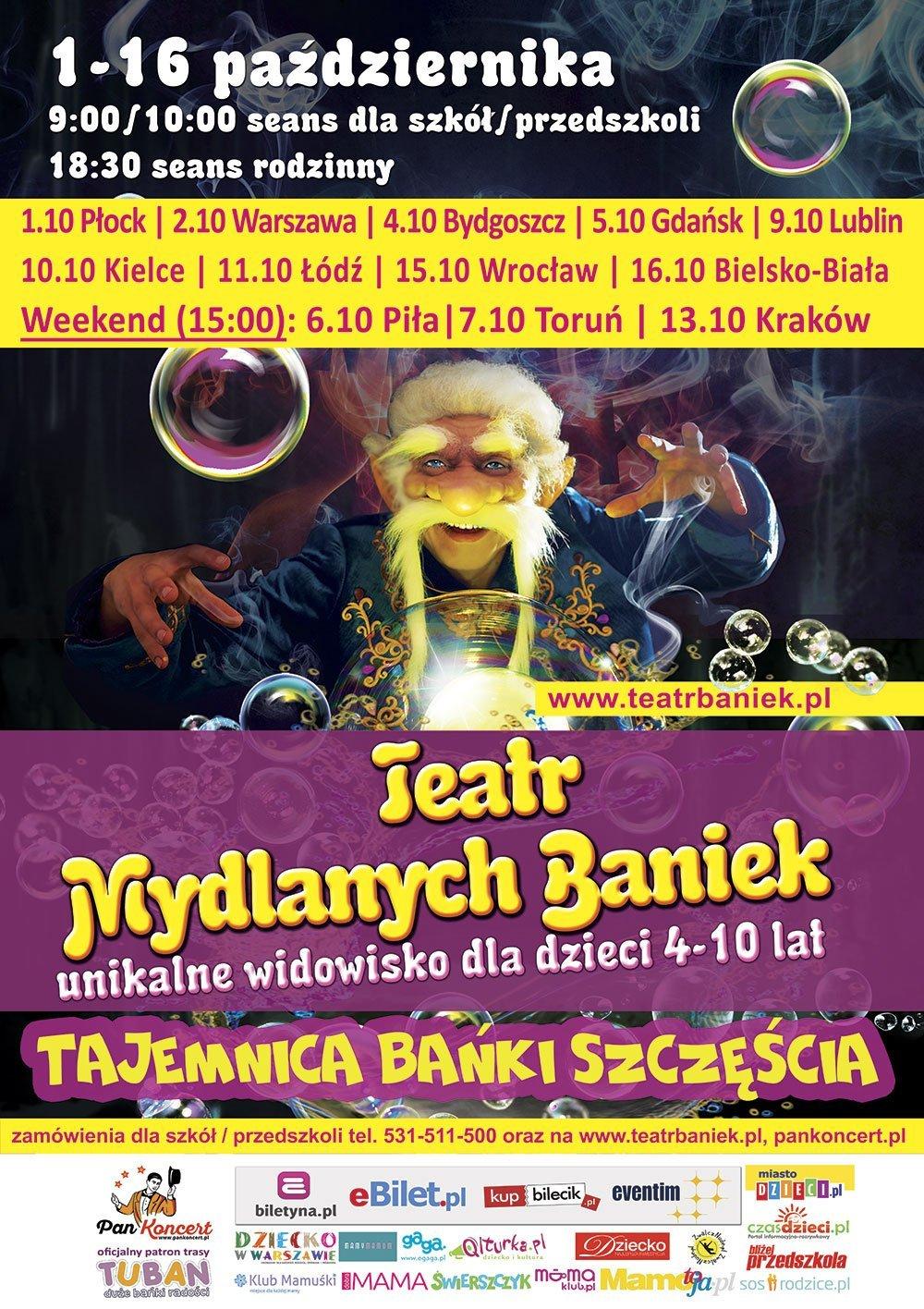 Teatr Baniek Mydlanych: Tajemnica Bańki Szczęścia