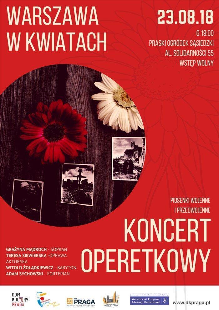 Warszawa w Kwiatach – koncert operetkowy