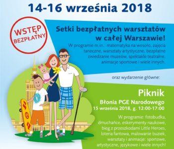 XII edycja Warszawskich Dni Rodzinnych