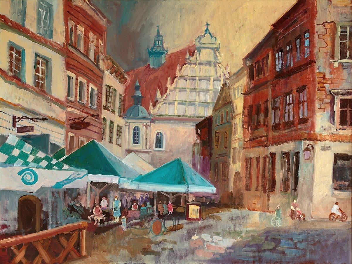 Warsztaty malarskie dla dzieci w Chorzowskim Centrum Kultury