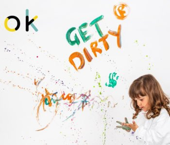 Get Dirty – kreatywne warsztaty twórcze dla dzieci w wieku 1-4
