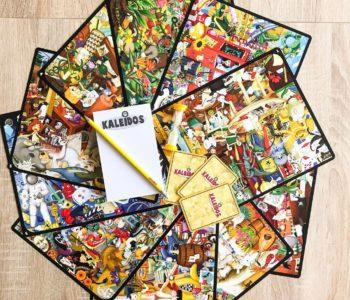 Kaleidos – szalone bogactwo barw, niesamowite ilustracje i wyścig na spostrzegawczość