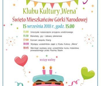 2 urodziny Klubu Kultury Wena