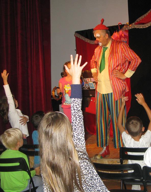Klaun w balonie - spektakl