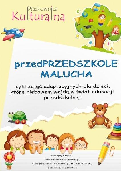 Przed przedszkole malucha - zajęcia adaptacyjne w Sosnowcu