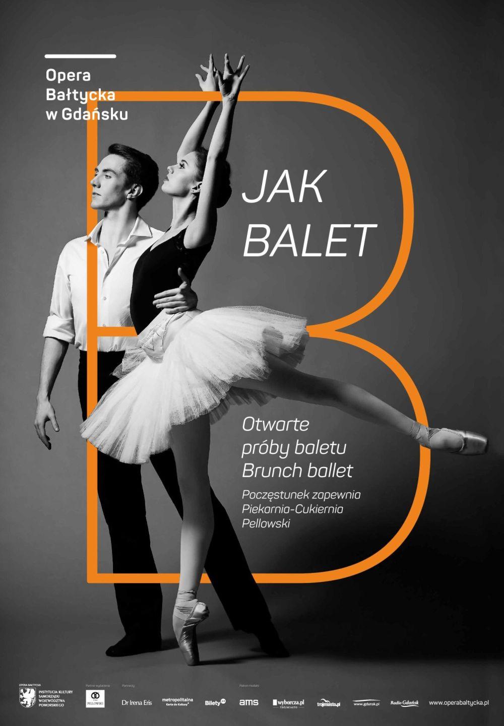 B jak balet. Otwarta próba baletu.