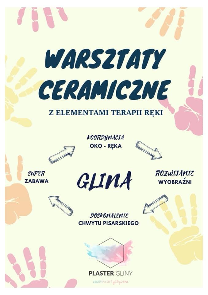 Ceramika z elementami terapii ręki