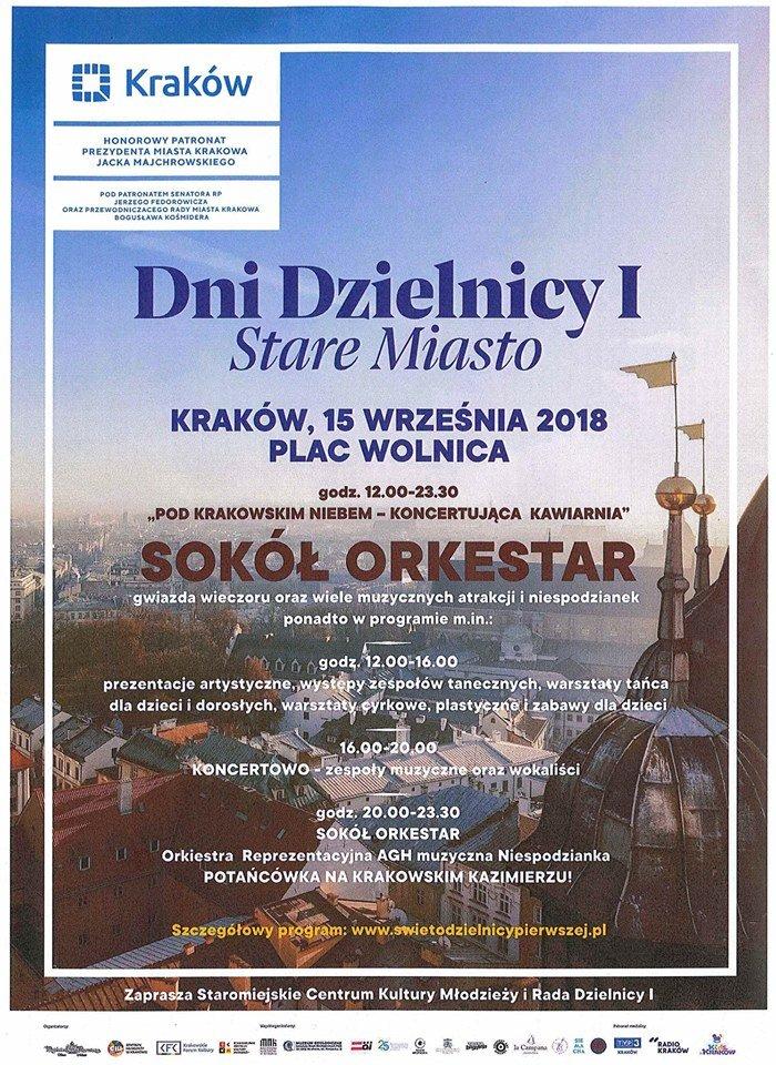 Dni Dzielnicy I – Stare Miasto: Pod Krakowskim Niebem – Koncertująca Kawiarnia