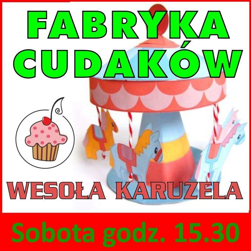 Fabryka Cudaków - bezpłatnie w Nutka Cafe