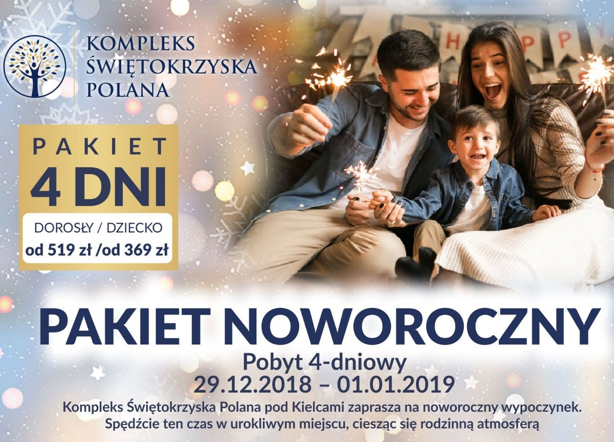 Pakiet Noworoczny Kompleksu Świętokrzyska Polana