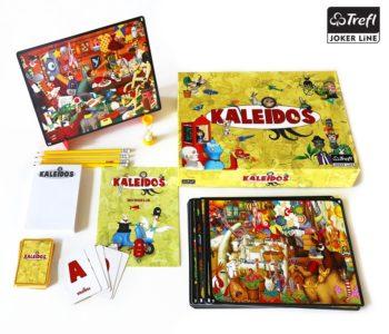 KKaleidos - szalone bogactwo barw, niesamowite ilustracje i wyścig na spostrzegawczość