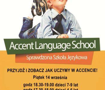 Lekcje pokazowe dla dzieci w Accencie!