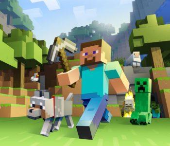 Powitanie jesieni z Minecraftem w Robotowi