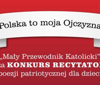 Ogólnopolski Konkurs Recytatorski – Polska to moja Ojczyzna