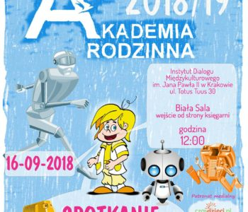 Inauguracja Akademii Rodzinnej 2018/2019