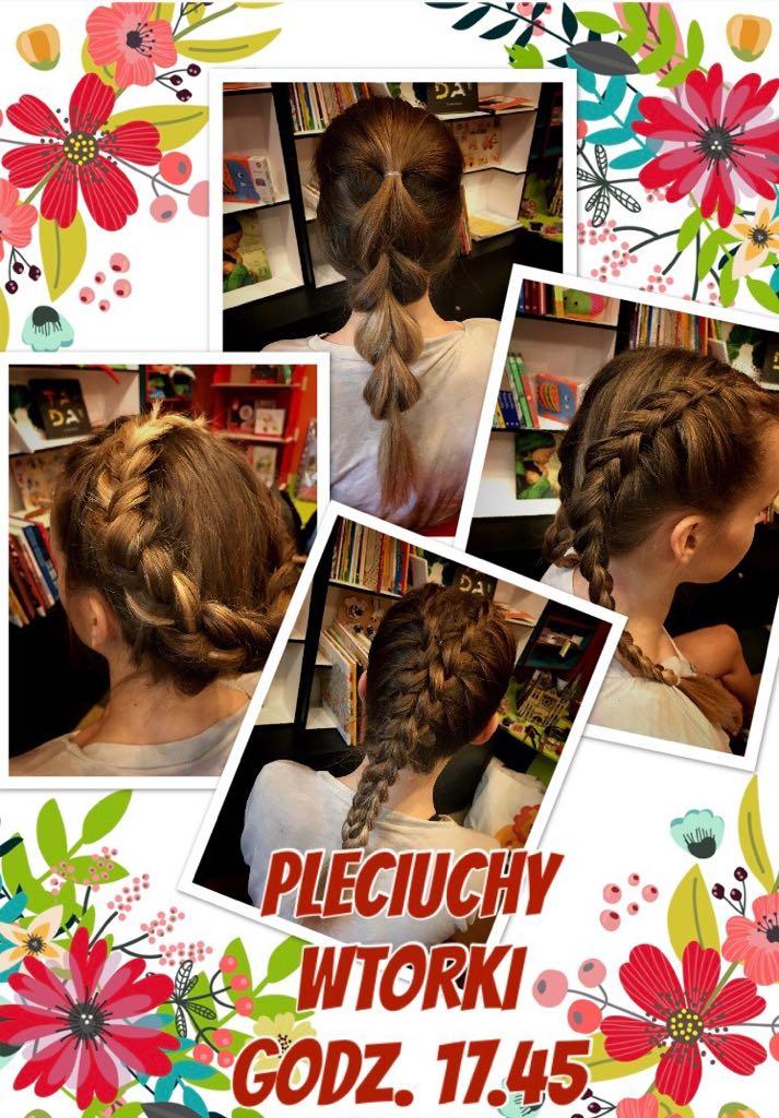 Pleciuchy - warsztaty tworzenia fryzur