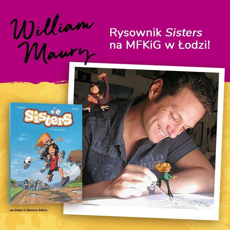 Rysownik SISTERS na MFKiG w Łodzi