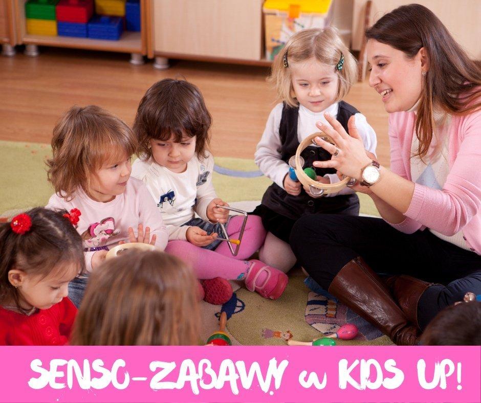 Senso-zabawy zajęcia z elementami integracji sensorycznej, rytmiki oraz czytania
