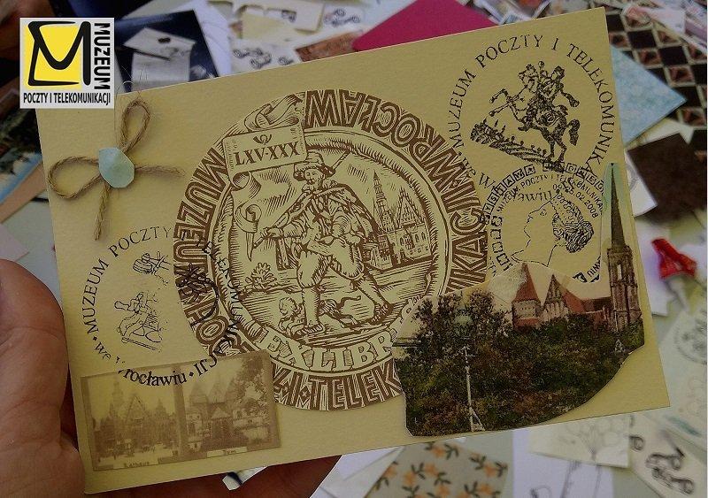 Ślemy kolorowe pozdrowienia z Wrocławia - warsztaty tworzenia kartek pocztowych