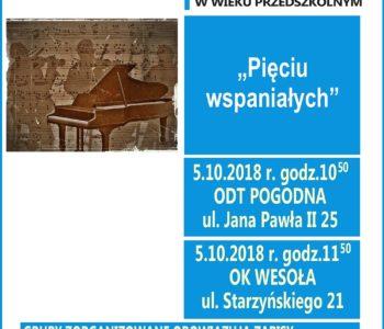 Koncert Filharmonii Narodowej pt. Pięciu wspaniałych