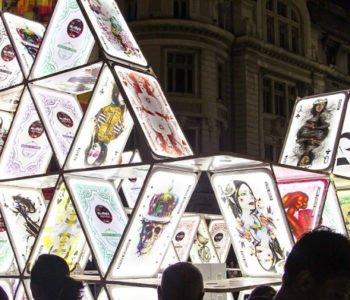 Domek z Kart na Light Move Festival