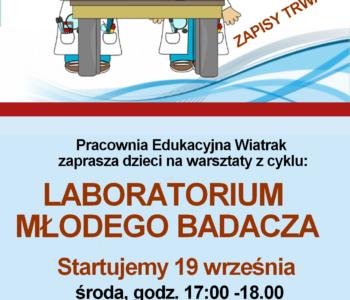 Laboratorium młodego badacza - zajęcia z eksperymentami